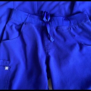 Figs Other - Figs Scrub Bottoms in Deep Royal Blue Sz S Regular